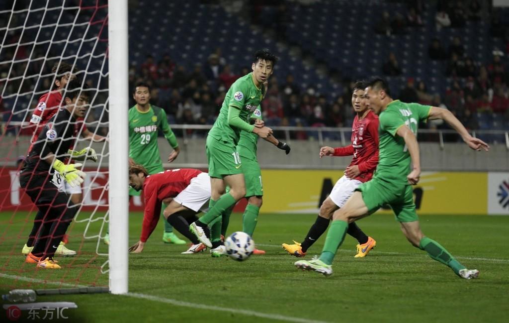 国安亚冠小组赛对阵日本