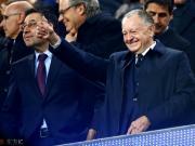 里昂主席:单场比赛我们可以和巴黎竞争,但联赛里太困难