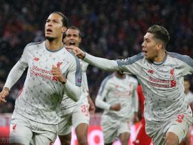 回声报:利物浦击败拜仁,进账900万英镑