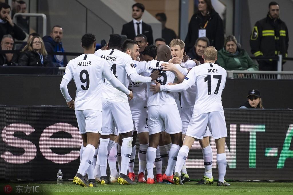 德甲独苗法兰克福成本赛季欧战德甲唯一幸存球