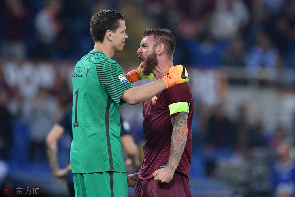 3C:托蒂的重要性有时甚至超过罗马;德罗西是球队真正的队长