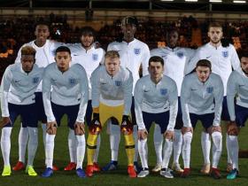 英格兰U20大名单:阿森纳前锋恩凯蒂亚入选