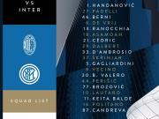 国际米兰公布米兰德比名单:伊卡尔迪继续缺席,贝西诺回归