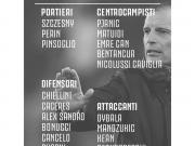 尤文客戰熱那亞名單:C羅輪休,皮亞尼奇和坎塞洛解禁復出