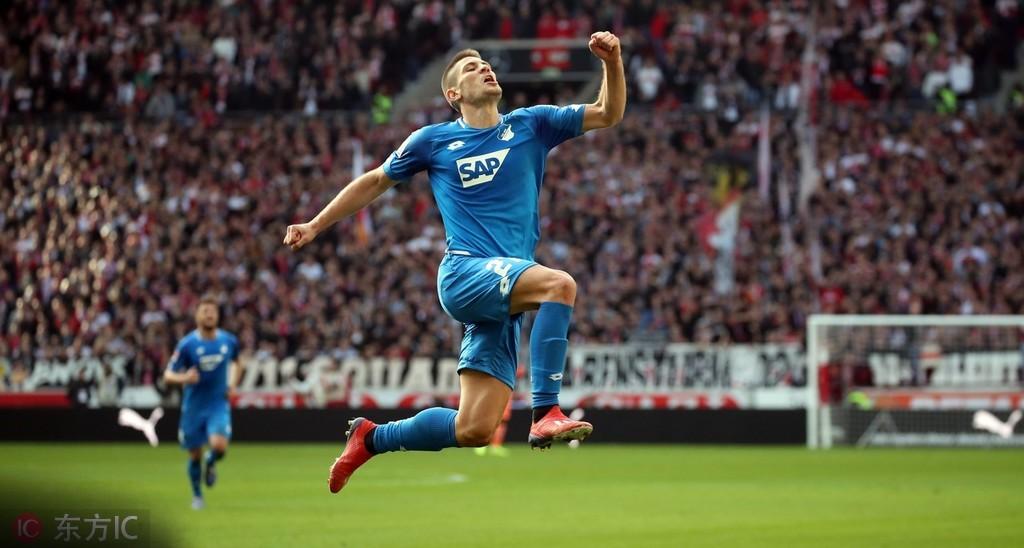 克拉马里奇攻入德甲第46球并列霍芬海姆队史最佳