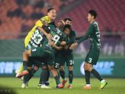 绿城2-1黑龙江取新赛季首胜,迪诺、陈晓破门,