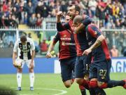尤文0-2热那亚终结27轮不败,潘德夫传射,斯图拉罗弑旧主