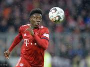 替补建功,阿方索-戴维斯成首位为拜仁进球的00后