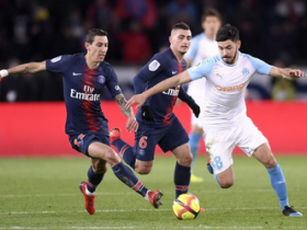 半场战报:巴黎1-0马赛,姆巴佩补时破门,巴黎两将伤退