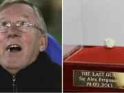史上最贵?弗格森生涯最后一战嚼的口香糖卖了39万英镑