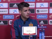 莫拉塔:梦想随西班牙夺冠;希望萨乌尔留在马竞