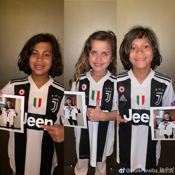 胡尔克感谢C罗送签名球衣给自己的孩子:你让他们梦想成真