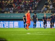 国足0-1泰国连续三年无缘中国杯决赛,颜骏凌神扑难救主