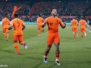 荷兰4-0取欧预赛开门红,德佩造4球,威纳尔杜姆
