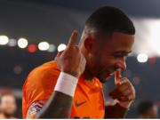 德佩近10场荷兰比赛造7球,参与了58%的有射门进攻