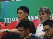 熟悉的面孔,李章洙现身中国杯看台观战国足