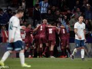 阿根廷1-3委内瑞拉,梅西回归首秀告负,劳塔罗