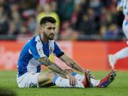 西班牙人官方:费雷拉右腿腿筋受伤,将缺阵4-6周无缘德比