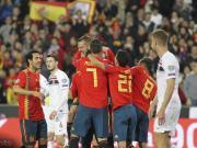 半场战报:西班牙1-0挪威,罗德里戈建功,阿尔巴进球无效