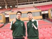 明星第12人,楊九郎、Mike隋參與拍攝北京中赫國安球迷定妝照
