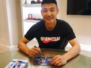 武磊在微博晒照:感谢大家的关心和鼓励