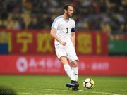 中国杯决赛,戈丁有望成为乌拉圭国家队出场次数最多的球员