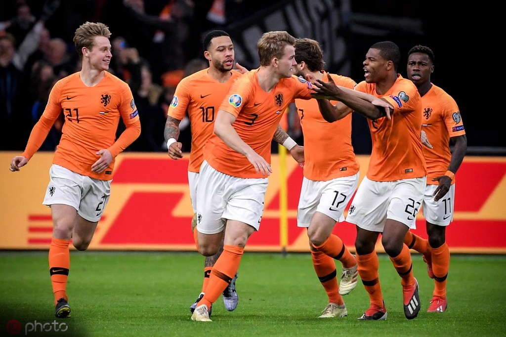 71球荷兰面对德国的总进球