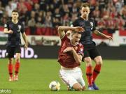 克罗地亚1-2遭匈牙利逆转,雷比奇破门,魔笛、辣鸡表现平平