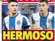 葡媒:西班牙人球员埃尔莫索和罗卡有望在今夏?#29992;?#26412;菲卡