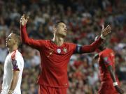 葡萄牙1-1塞尔维亚遭遇两连平,C罗伤退,主裁判