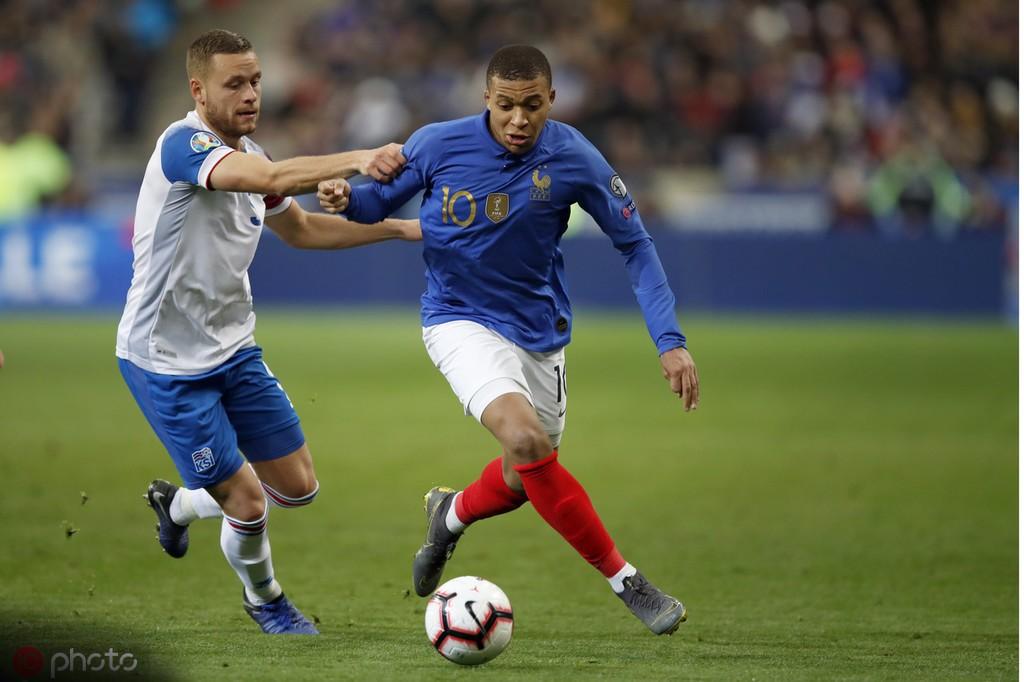 队史最年轻姆巴佩为法国队完成第30次出场