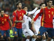欧足联国脚表现排行榜:拉莫斯排名第一