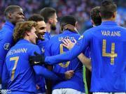 法国4-0冰岛迎两连胜,姆巴佩两传一射,吉鲁、