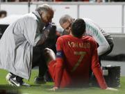 迪马济奥官网:C罗右腿屈肌受伤,明日返回都灵