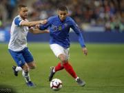 队史最年轻,姆巴佩为法国队完成第30次出场