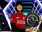 击败曼联代表,F2Tekkz为利物浦赢下首届英超电竞联赛冠军