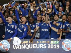 斯特拉斯堡点球4-1甘冈,队史第四次获得法联杯冠军