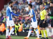 巴萨2-0西班牙人,梅西双响制胜;武磊替补单箭头多次造险情