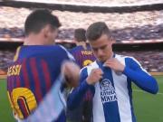 賽后和梅西交換球衣,西班牙人小將遭到自家球迷謾罵