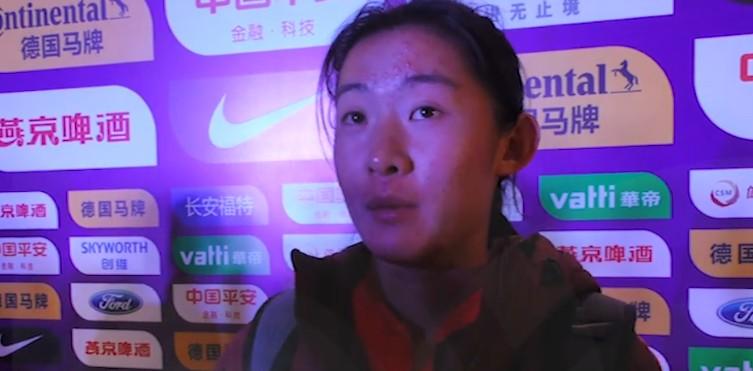 女足姚伟:很期待在家乡比赛但同时也很紧张