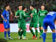 國安3-0江蘇暫登榜首,四連勝創隊史最佳開局,張玉寧世界波