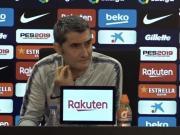 巴爾韋德:下周的歐冠不會影響明天的首發;登貝萊還上不了場