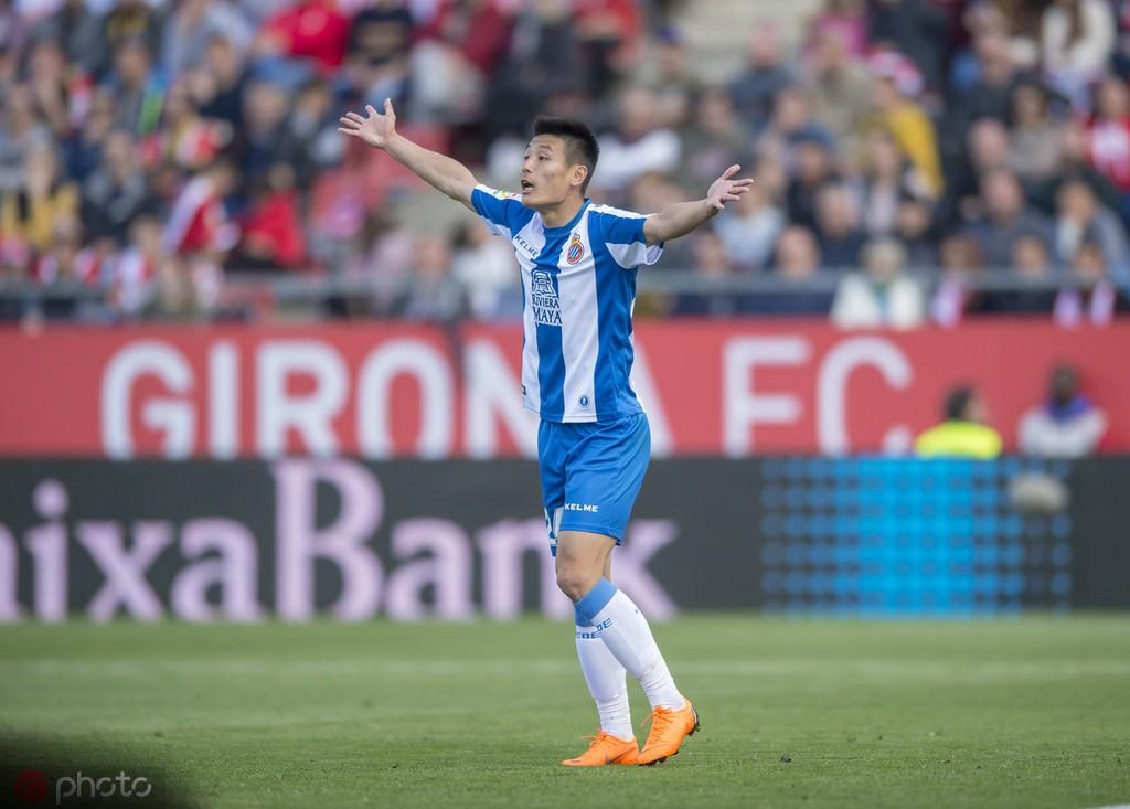 武磊10场西甲小结:7次首发贡献1传1射,球队一度六轮不败 — 西班牙人