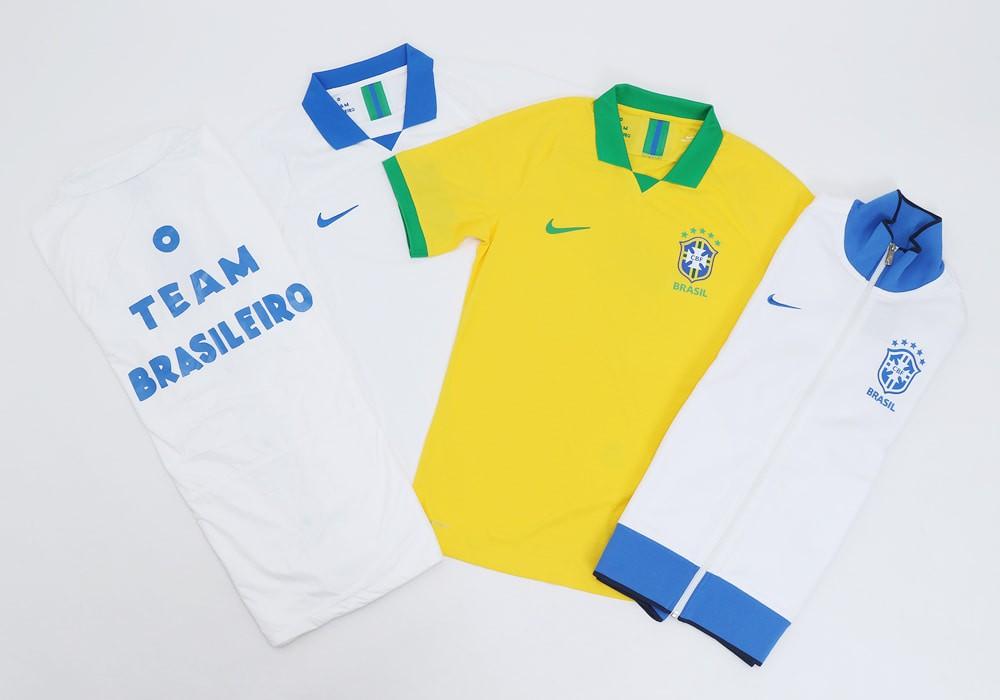 耐克发布巴西美洲杯球衣