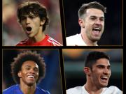 欧联杯周最佳球员候选:拉姆塞领衔,若昂-菲利