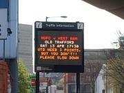 曼市交管局再次提醒您:曼联需要3分,但你不需要