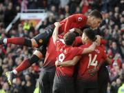 曼联2-1西汉姆联终结各项赛事2连败,博格巴点射梅开二度
