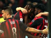 米兰1-0拉齐奥终结4轮不胜排名第四,凯西点射,米兰两将伤退