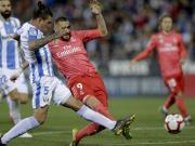皇马1-1莱加内斯遭遇客场两轮不胜,本泽马四场