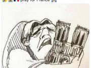 为巴黎圣母院祈祷,内马尔发卡西莫多哭泣图画